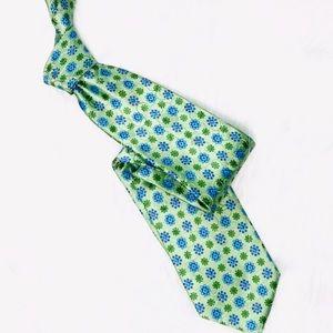 ERMENEGILDO ZEGNA Silk Bright Floral Tie